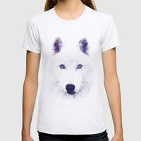 Direwolve Womens Fitted Tee Ash Grey SMALL