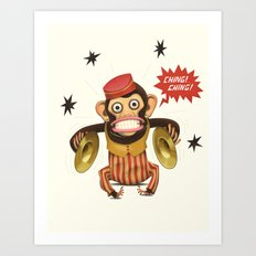 Magic Monkey Art Print