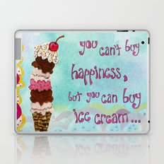 Ice Cream Happiness Laptop & iPad Skin