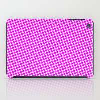PINK DOT - SMALL - iPad Case