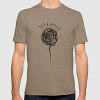 unconscious Mens Fitted Tee Tri-Coffee SMALL