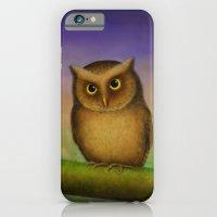Mountain Scops Owl iPhone 6 Slim Case