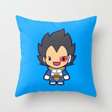 FunSized Vegeta Throw Pillow