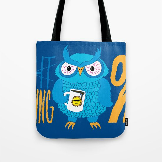 Morning Owl Tote Bag