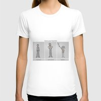 A Helpful Guide Womens Fitted Tee White SMALL