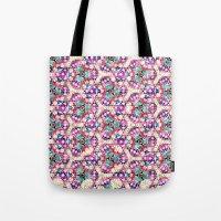 Watercolor Kaleido Patte… Tote Bag