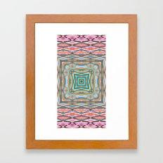 Touchy Vibrations. Framed Art Print