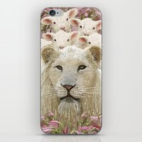 Lambs Led By A Lion iPhone & iPod Skin
