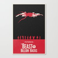 Futurama - TBWABB Canvas Print
