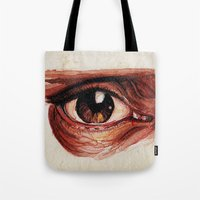 Suffered look Tote Bag