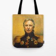 Alan Rickman - Replacefa… Tote Bag