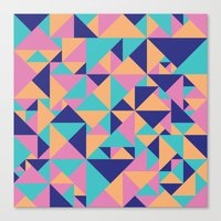Triangular Canvas Print