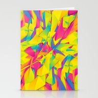 Stationery Cards featuring Bubble Gum Explosion by Danny Ivan