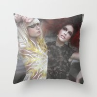lucious Throw Pillow