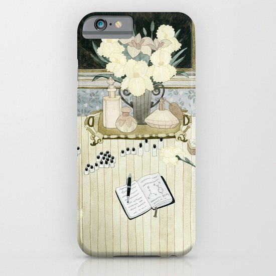 Perfumer at work iPhone & iPod Case