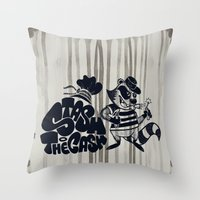 Stash The Cash Throw Pillow