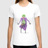 joker T-shirts featuring Joker  by Bastonmag