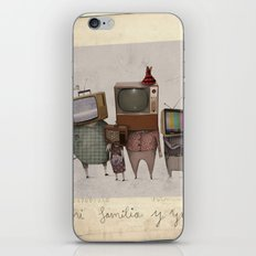 my family and I iPhone & iPod Skin
