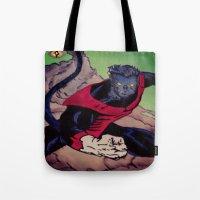 The Amazing Nightcrawler Tote Bag
