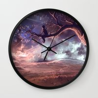 It Made Scars In The Sky… Wall Clock
