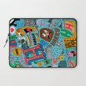 H Pattern Laptop Sleeve