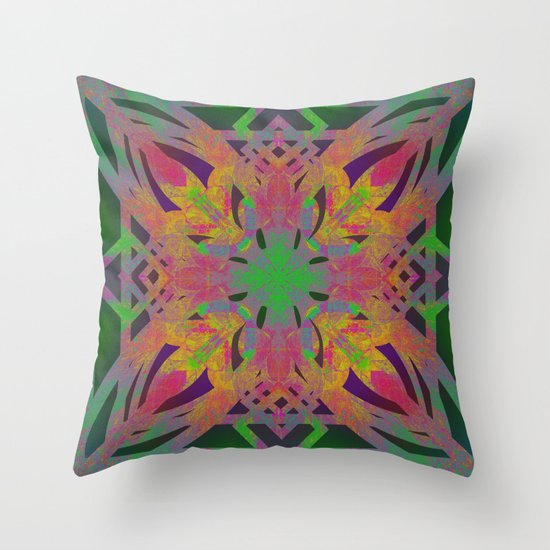 Mandala 6 Throw Pillow