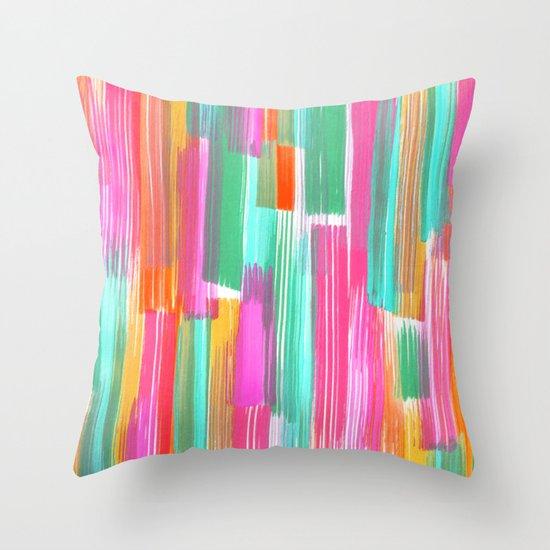Colourplay Throw Pillow