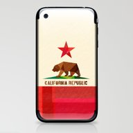 iPhone & iPod Skin featuring California by Fimbis