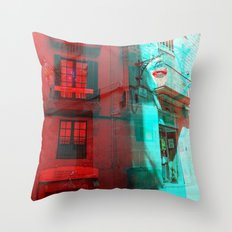 Listen attentively, move purposefully. Throw Pillow