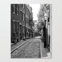 Acorn Street, Boston MA Canvas Print