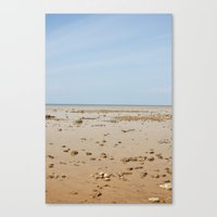 Sun And Sand Color Natur… Canvas Print