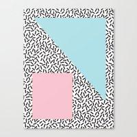 Pattern 9 Canvas Print