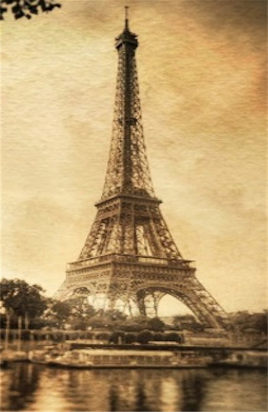 Vintage Eiffel Tower 2 Art Print