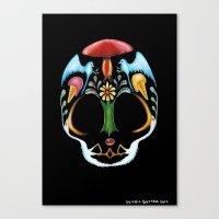 Skull 1, Eusebio Guerra,… Canvas Print