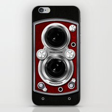 Vintage Camera Red iPhone & iPod Skin