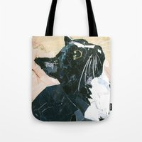 Lady Speedstick Kitty Tote Bag