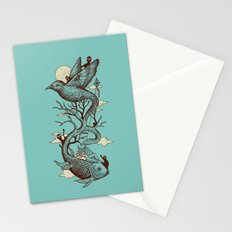 Escape from Reality Stationery Cards