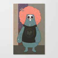 King of the streets Canvas Print