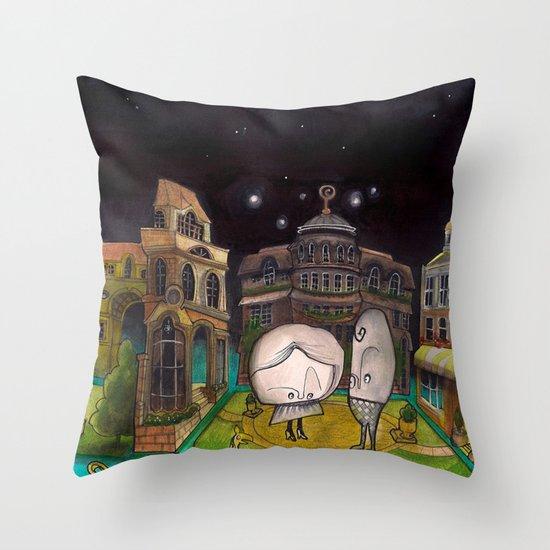 Diorama Throw Pillow