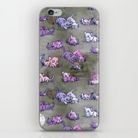 Field of Kittens iPhone & iPod Skin