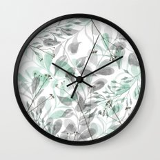 Aqua Spray Wall Clock