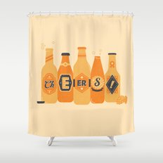 Cheers! Shower Curtain