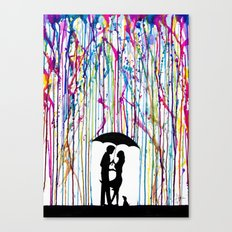 Two Step Canvas Print