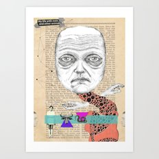 My life with men... Art Print