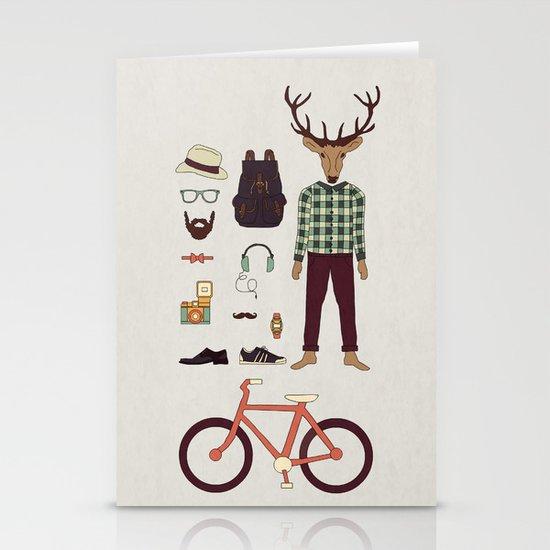 Deer Boy Stationery Card
