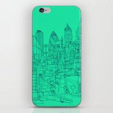 London! Mint iPhone & iPod Skin