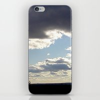 View From Up Here iPhone & iPod Skin