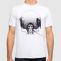 Walking grump Mens Fitted Tee Ash Grey SMALL