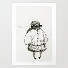 All Bundled Up Art Print