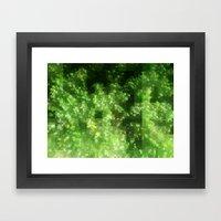 Digital Pointillism Framed Art Print